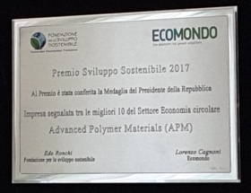 APM awarded at Ecomondo edition 2017 - APM Srl